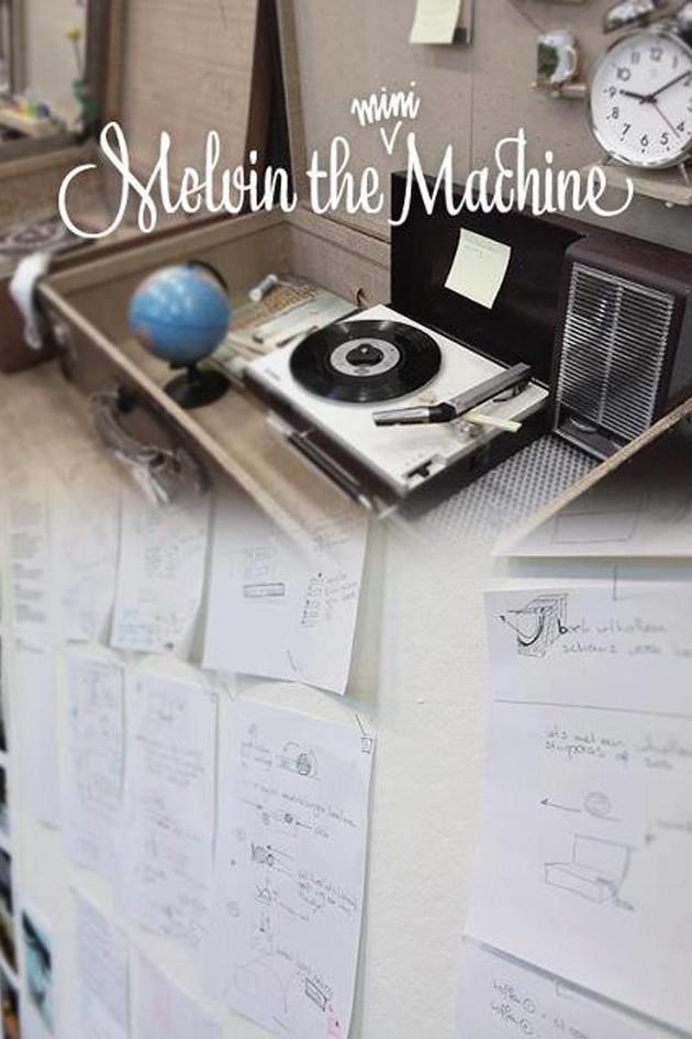 Melvin the Mini Machine @ Salone Milan 2012