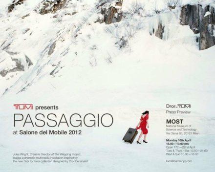 Dror for Tumi @ Salone Milan 2012