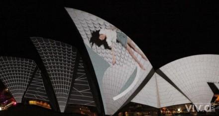 Lighting the Sails @ Vivid Sydney 2012