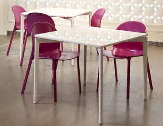 Daniel Stromborg Indoor / Outdoor Tables for Knoll