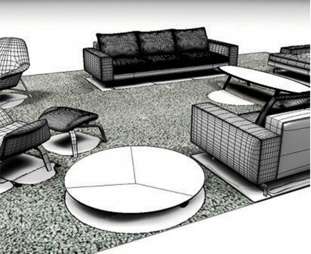 Minotti's 2012 Collection 2D / 3D files