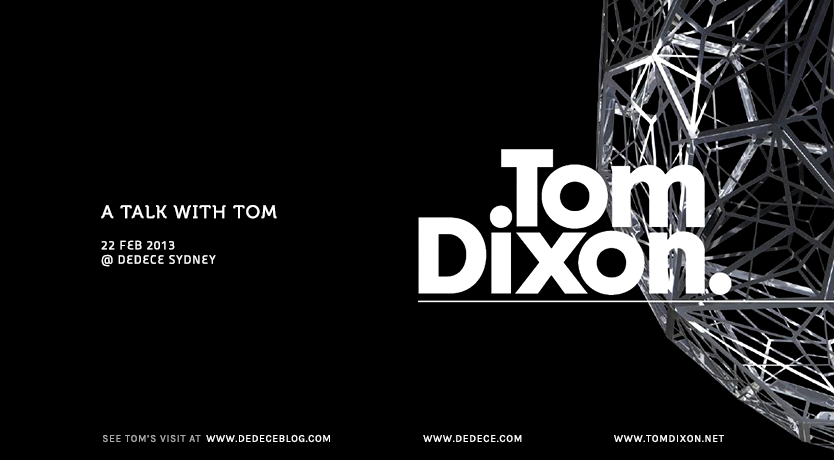 Tom Dixon Talk
