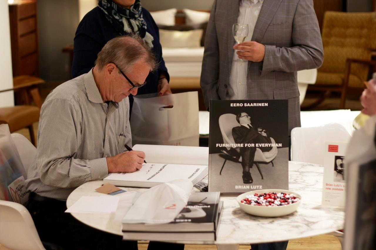 brian lutz book signing at DWR