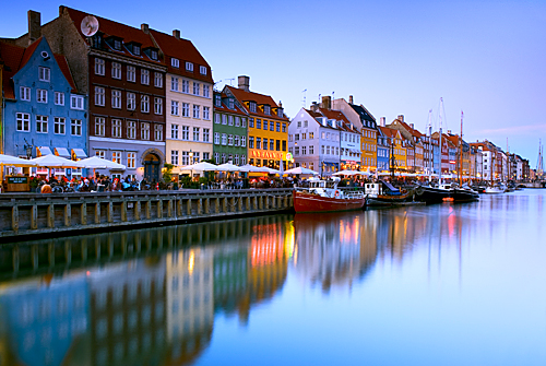 Copenhagen - Nyhavn Harbour