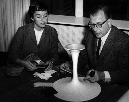 florence knoll and eero saarinen 2