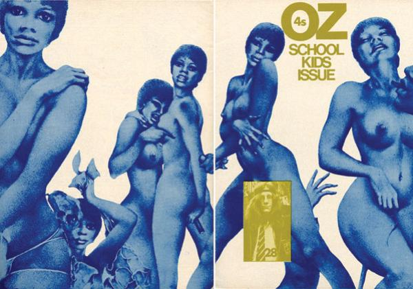 school kids issue oz magazine