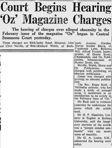 smh thurs 23rd july 1964
