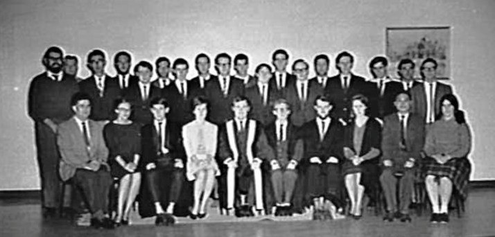 unsw student union group 1964