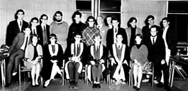unsw student union group 1965