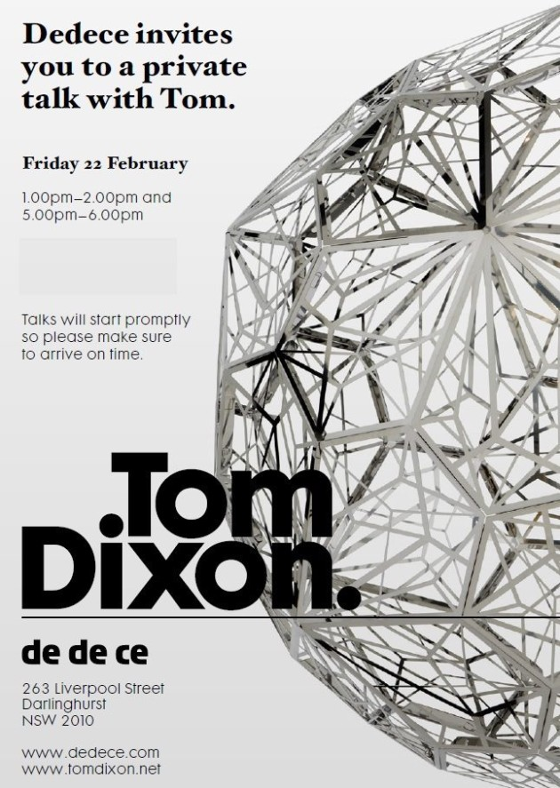 tom dixon private talk