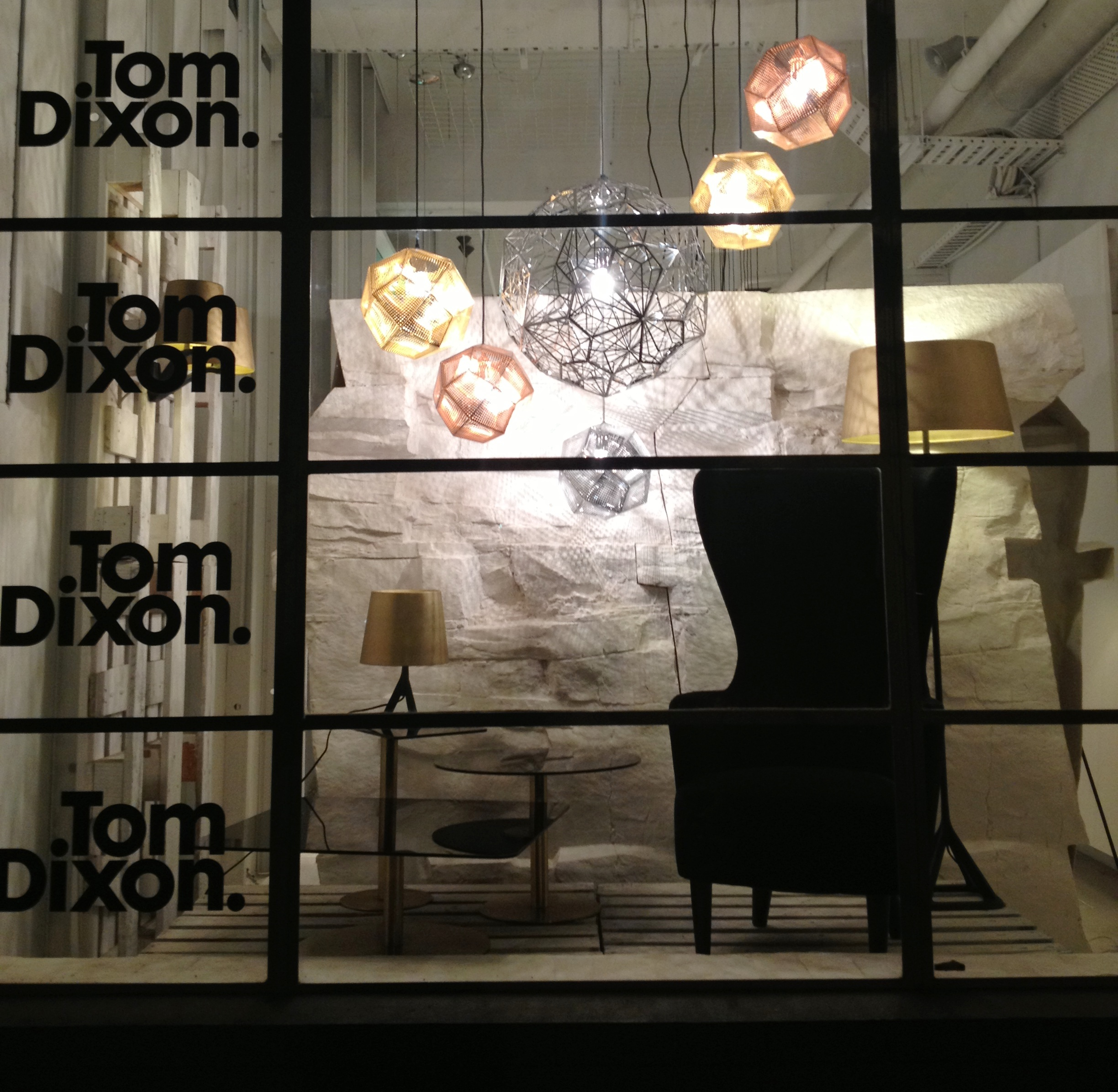 tom dixon window night
