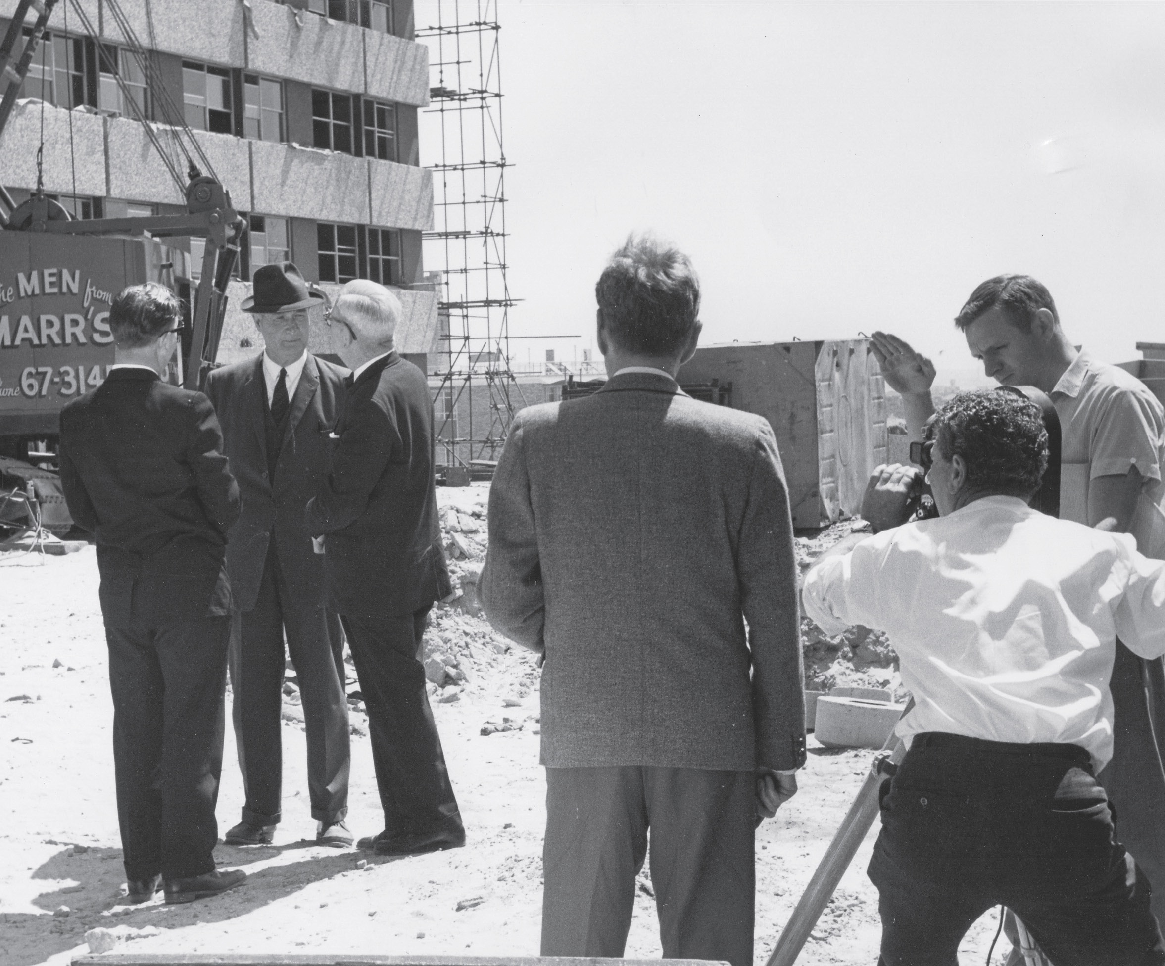 unsw construction 1965