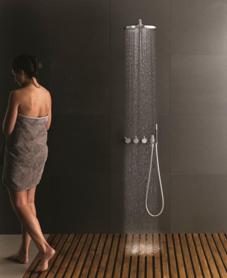 vola round shower