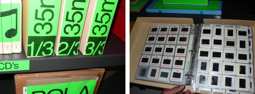 35 mls slides folder