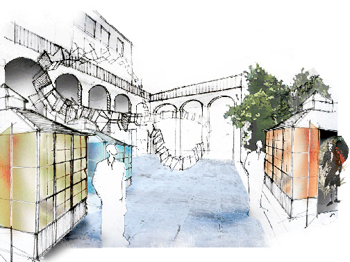 unopiu concept by franco Laviani