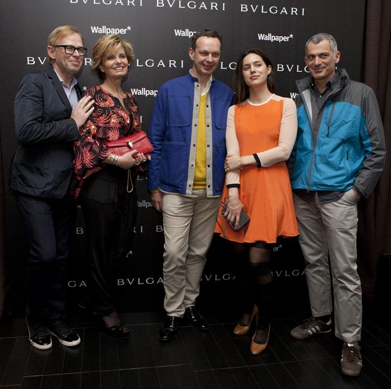 David Collins, Sabina Belli, Tom Dixon, Pernille Ohrstedt e Arik Levy