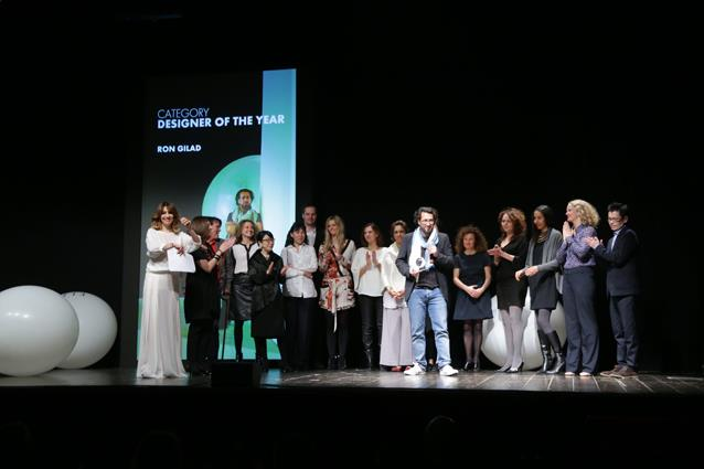 Ron Gilad, vincitore del premio Designer of the Year