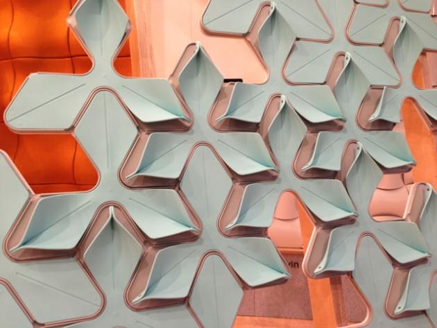 Wovin Wall @ Salone Milan 2013