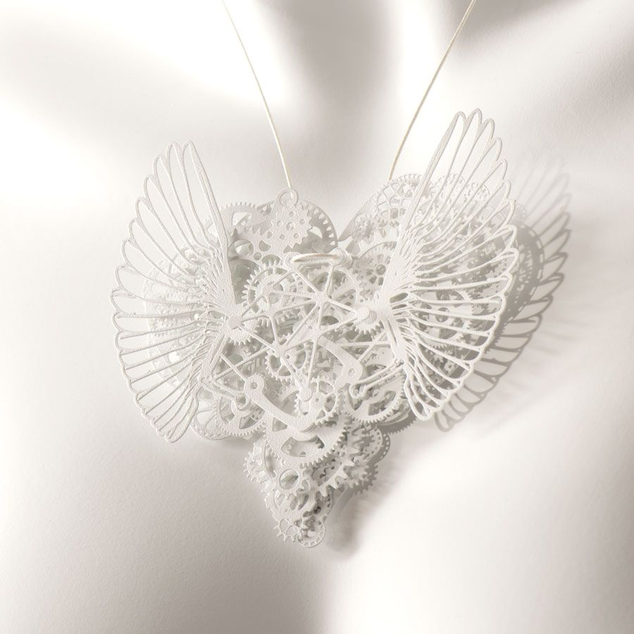 clockwork love wings jewellery