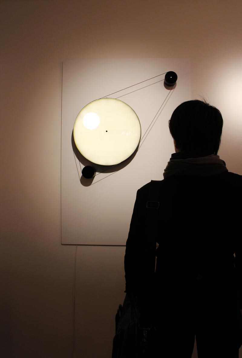 OOS's eclipsing clock and light stand.
