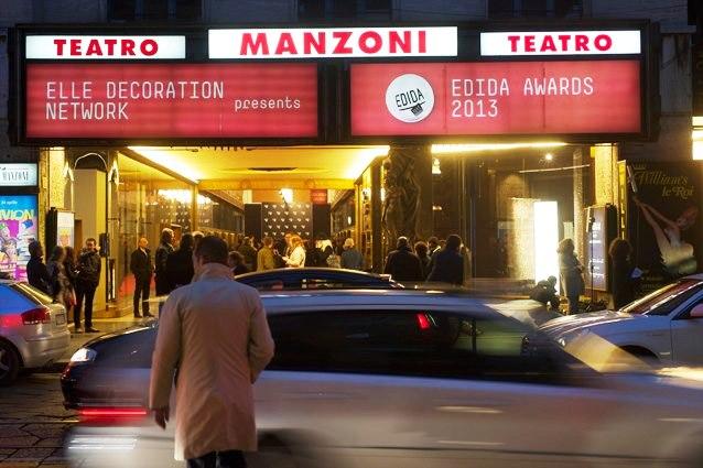 edida awards milan 2013 teatro manzoni