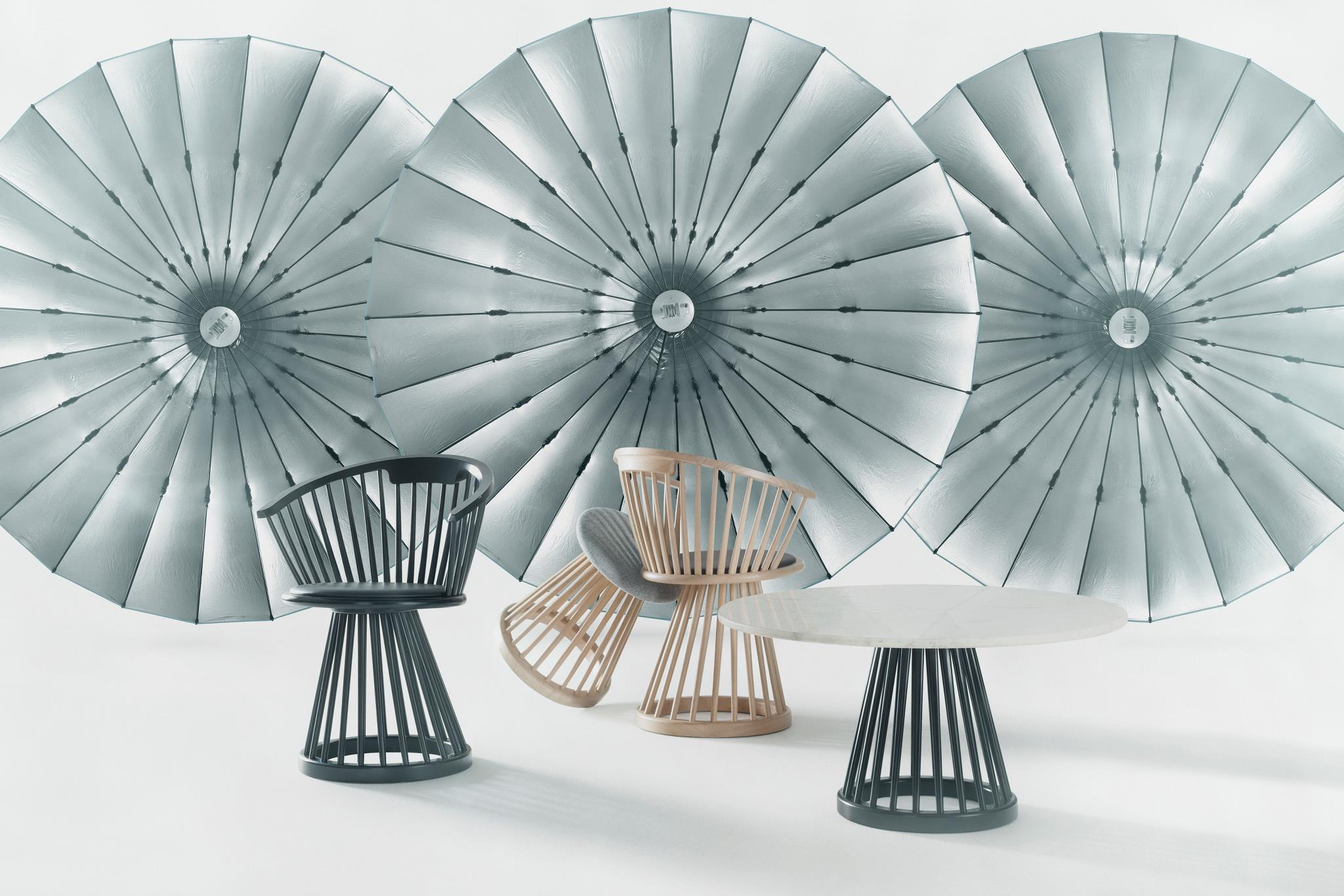 fan chairs