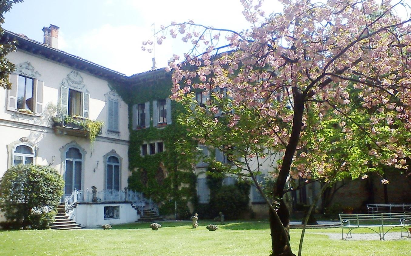giardino della casa Atellani