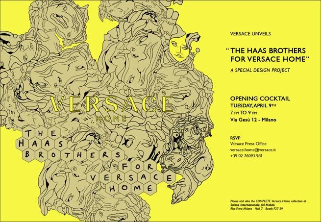 haas versace invitation