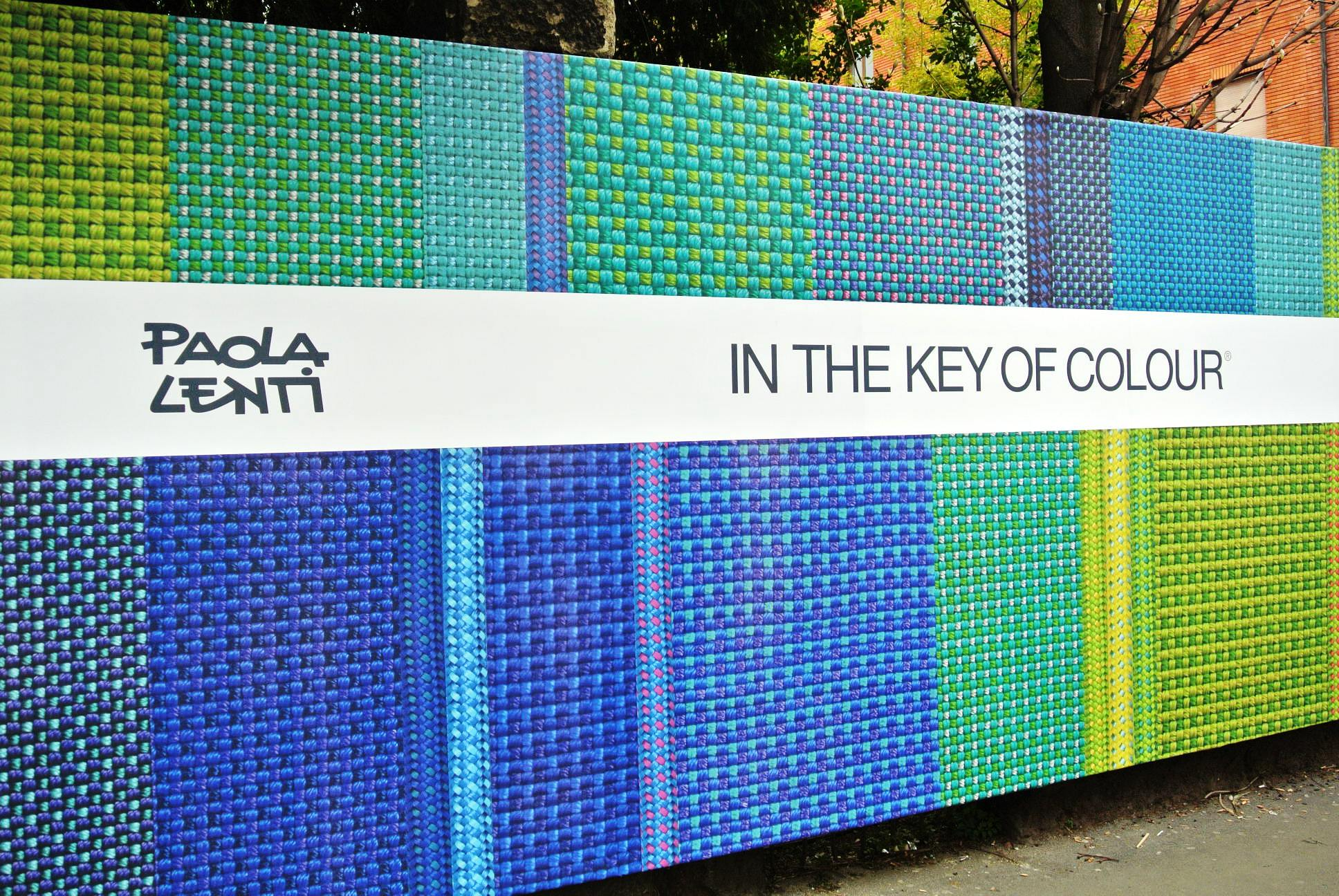 in the key of colour paola lenti 2013 entrance