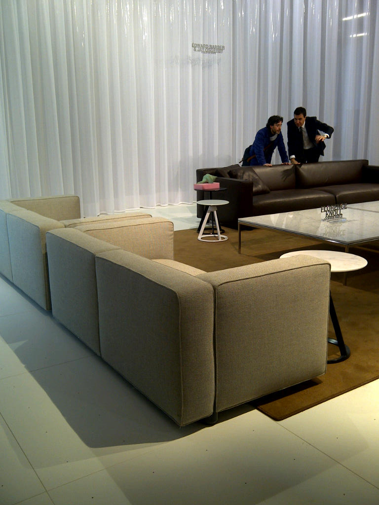 knoll booth with barber osgerby