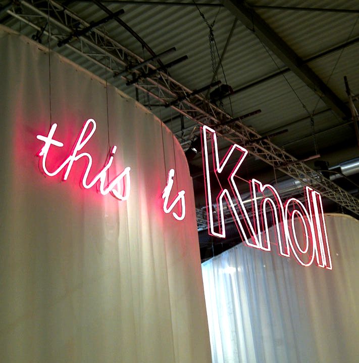 knoll booth