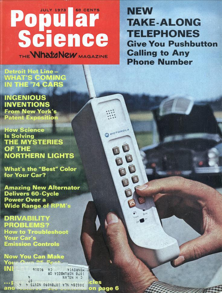 popular science 1973 cover