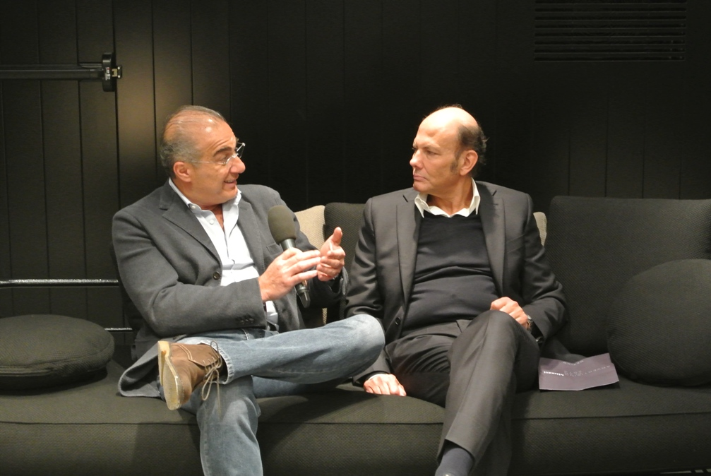 renato minotti being interviewed