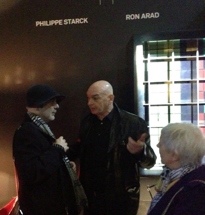 ron arad with jean nouvel