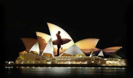 Light up the Sydney Opera House Sails ( updated )
