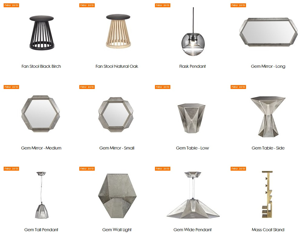 tom dixon 2013 new products