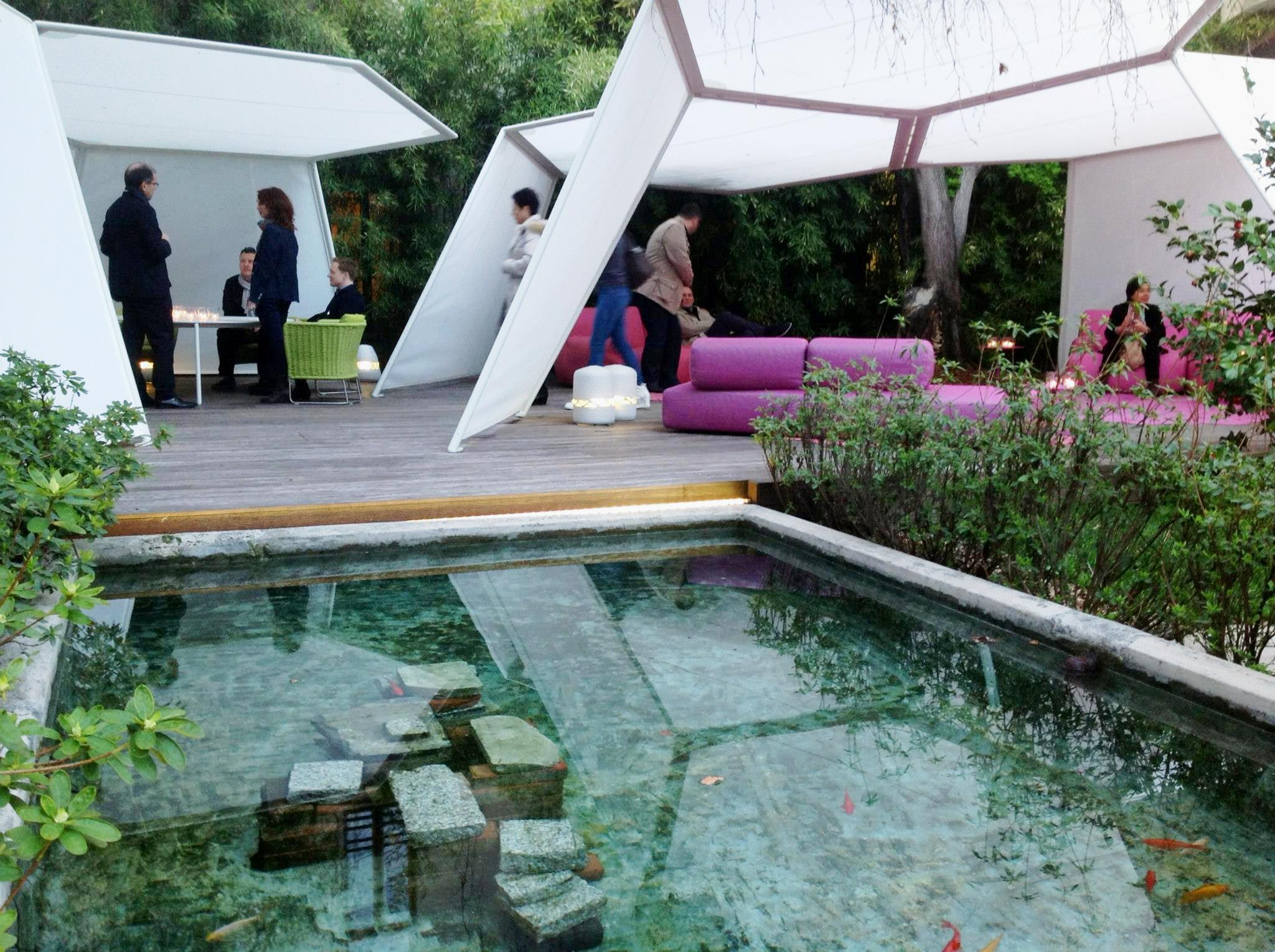 paola lenti fishes cloister