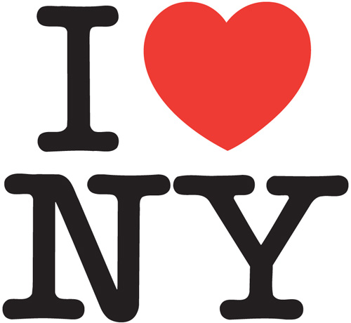 I (HEART) NY by Milton Glaser