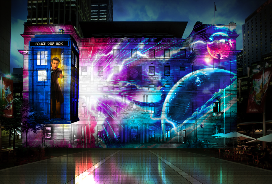 dr who at vivid sydney