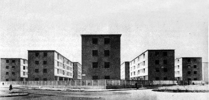 quartiere d d'annunzio, milano, 1937