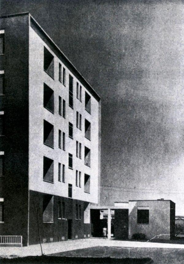 quartiere ettori ponti, milano, 1939