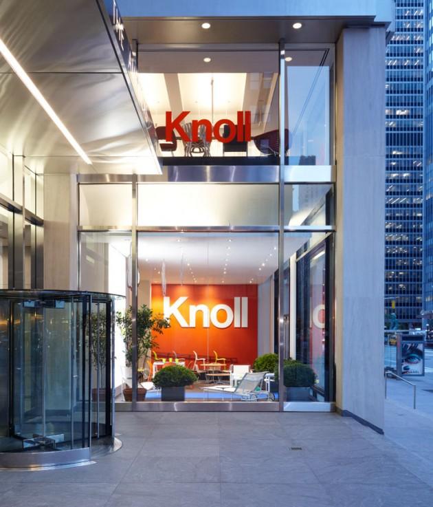 Knoll's New York Showroom