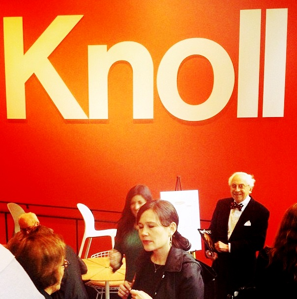 richard schultz at knoll opening