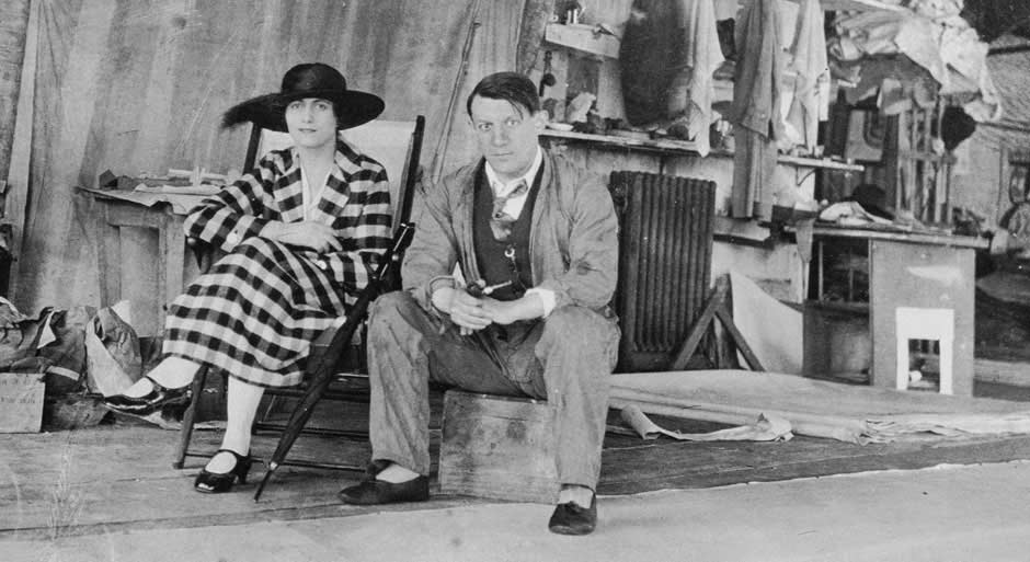 picasso and his wife olga