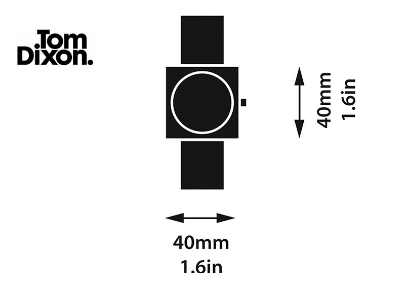 tom dixon block watch dimensions