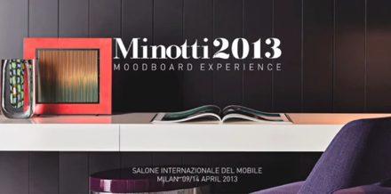 Minotti 2013 – MoodBoard Experience