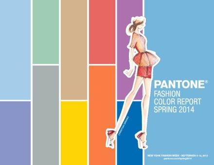 Pantone Spring Fashion Colour Trends 2014