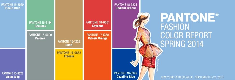 pantone colour report 2014