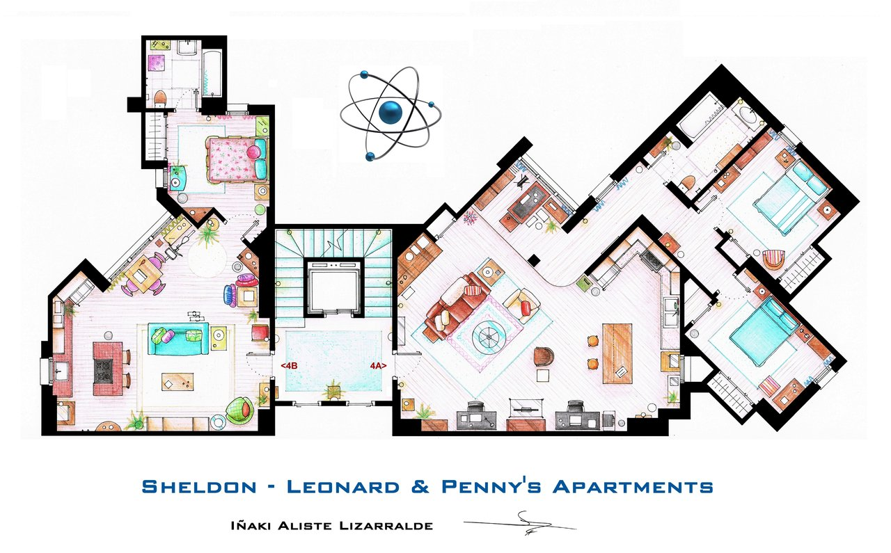sheldon__leonard_and_penny_apartment_from_tbbt