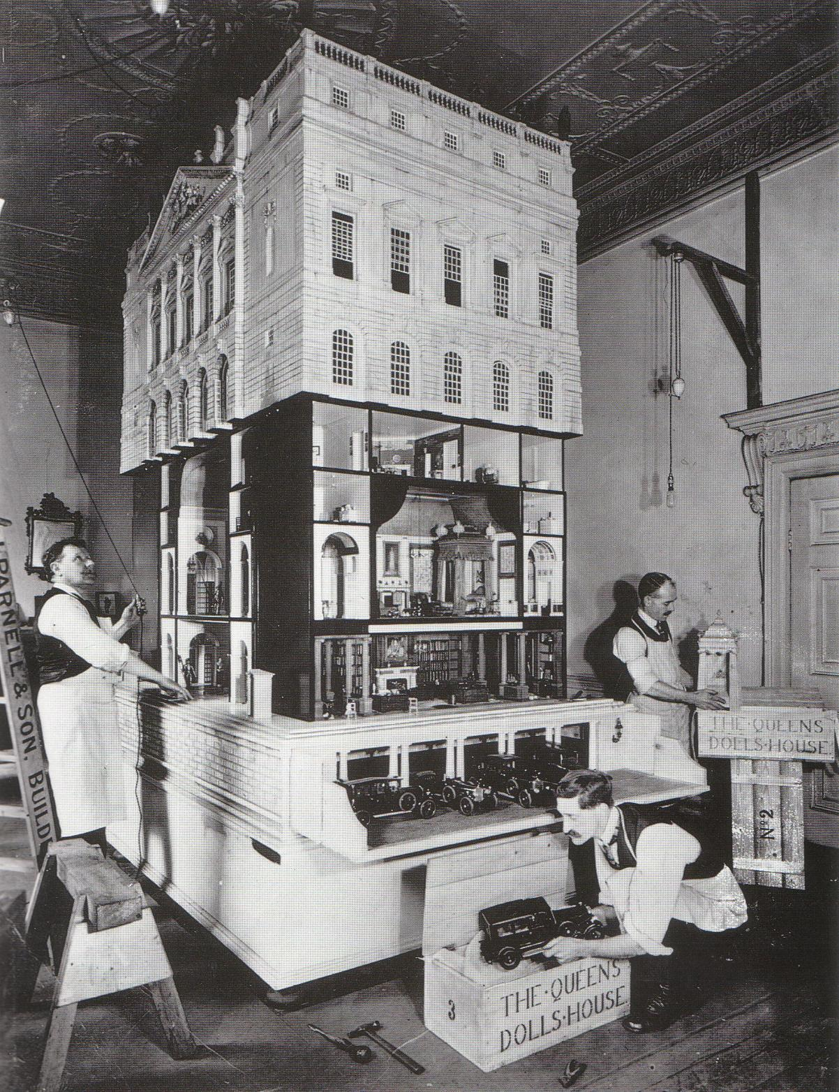 edwin luytens dolls house 1922